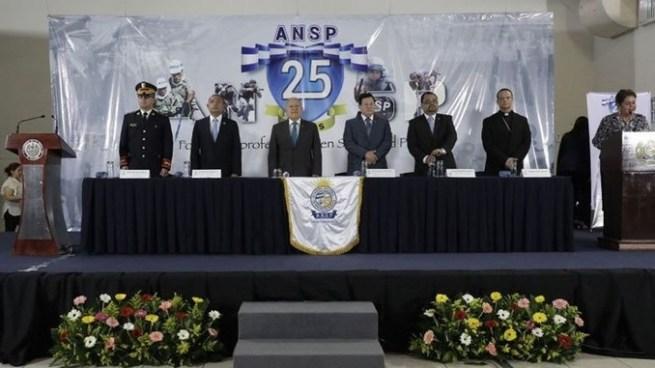 Conmemoran los 25 años de la Academia Nacional de Seguridad Pública