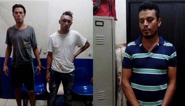 PNC detiene a tres sujetos por contrabando de mercadería en La Unión