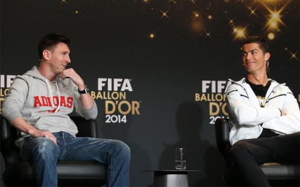 """Cristiano Ronaldo: """"Messi es un crack y disfruto mucho verle"""""""
