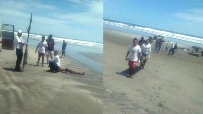 Encuentran cuerpo de joven ahogado desaparecido en Playa El Espino