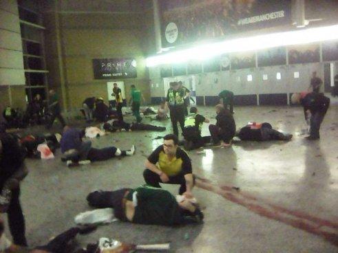 22 muertos y 59 heridos es el saldo del atentado de Manchester