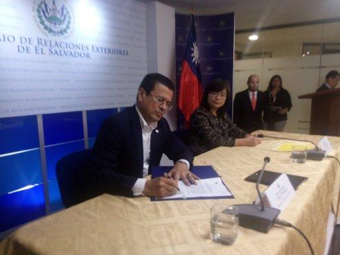 GOES recibe segundo desembolso de China Taiwán para proyectos del programa Cooperación Quinquenal