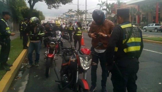 Policía de tránsito lanza Plan de Intervención a Motociclistas para evitar más accidentes