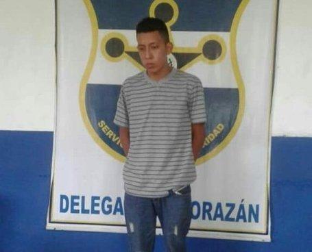 Capturan a pandillero acusado de un doble homicidio en Morazán
