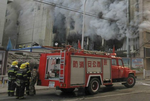 Incendio provocado deja 22 personas fallecidas en China