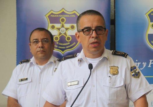 Director de la PNC pedirá a la Asamblea Legislativa medidas de protección para policías