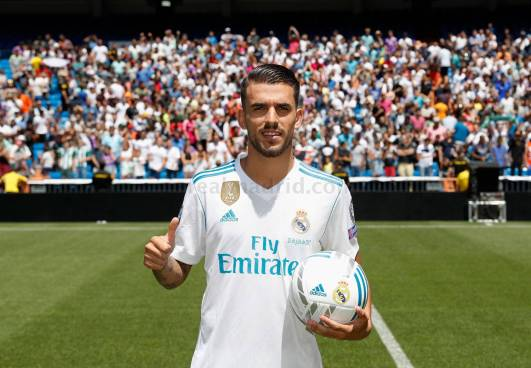 Real Madrid presenta a su nueva joya, Dani Ceballos