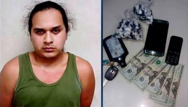 Arrestan en San Vicente a pandillero que se dedicaba al tráfico de droga