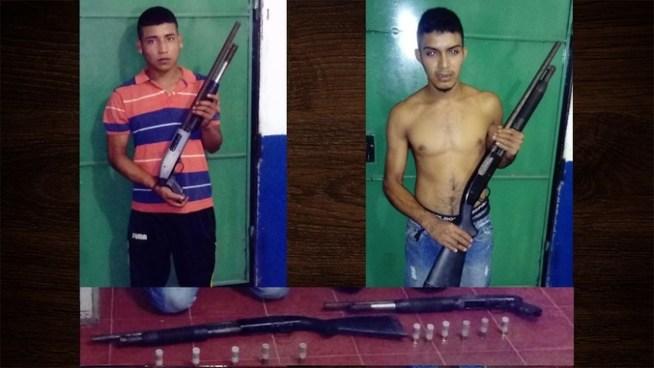Arrestan a 2 pandilleros armados que planeaban asesinar policías en Ahuachapán
