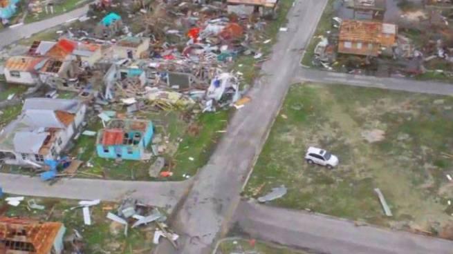 Huracán Irma destruye el 90% de estructuras en la isla de Antigua y Barbuda