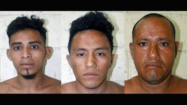 PNC captura a tres peligrosos pandilleros en Usulután