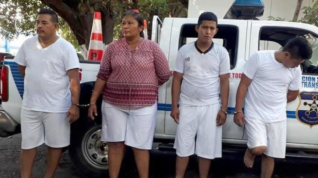 Detienen a cuatro sujetos implicados en los delitos de extorsión y estafa