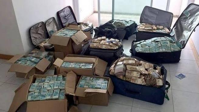 Policía brasileña halla maletas con dinero en apartamento usado por un exministro de Temer