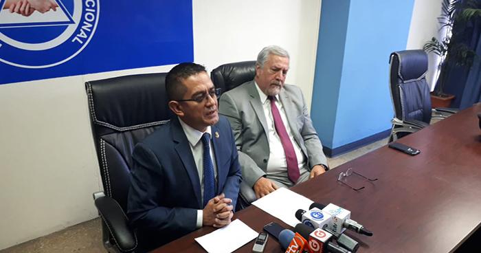Diputado Reynaldo Cardoza no participará en la elección de los nuevos magistrados de la CSJ