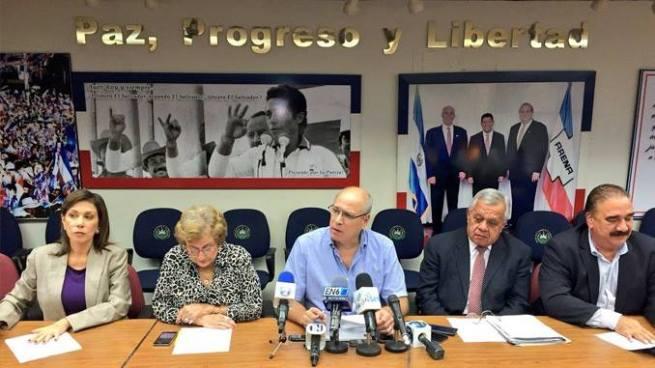 Diputados de ARENA critican al gobierno por despliegue militar en San Salvador