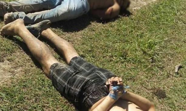 Dos hombres fueron asesinados cerca de un río de San Martín