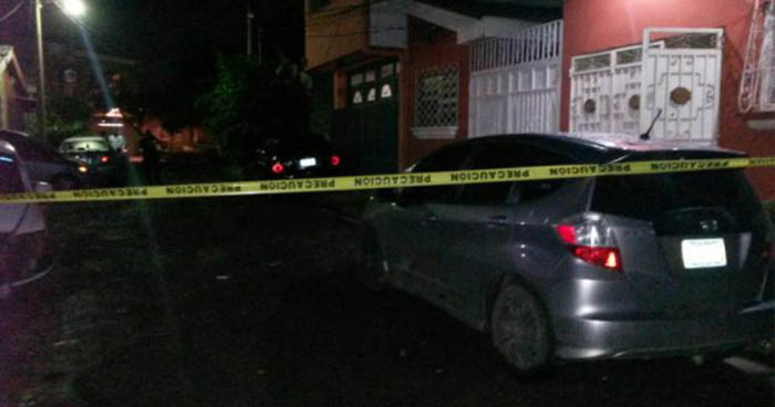 Dos hombres fueron asesinados a balazos en la colonia San Jorge de Santa Ana