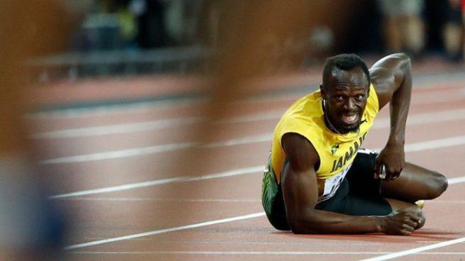 Doloroso final para el mejor corredor de todos los tiempos, Usain Bolt