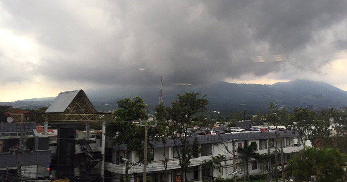 Se prevén lluvias moderadas con énfasis sobre Santa Ana, Chalatenango y Cabañas