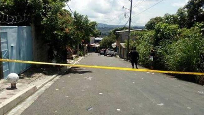 Dos pandilleros fueron abatidos en un enfrentamiento con policías en Cuscatancingo
