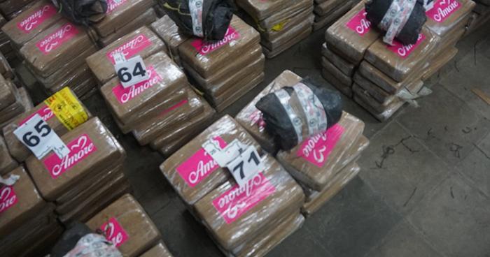 Más de $150 millones de dólares en droga han sido incautados en el país en lo que va del 2018