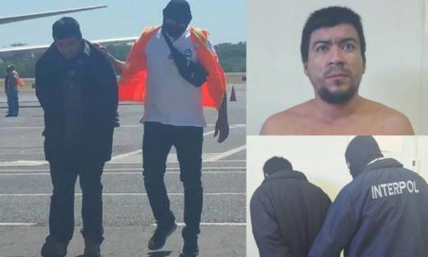 INTERPOL de El Salvador captura a homicida que contaba con difusión roja