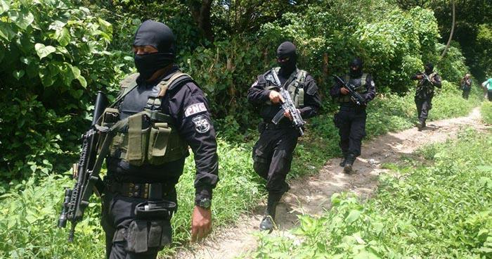 """Pandillero pierde la vida al atacar a agentes de la PNC en el """"Changallo"""", Ilopango"""