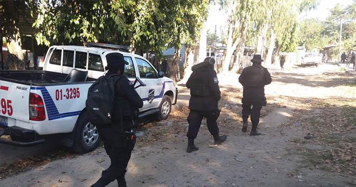 Pandillero muere tras atacar a policías en proyecto Santa Teresa de San Martín