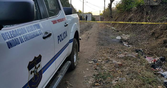 Pandillero resulta herido tras enfrentarse a policías en Estanzuelas, Usulután