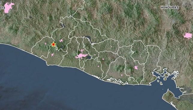 Autoridades registran más de 240 sismos en el municipio de Chalchuapa