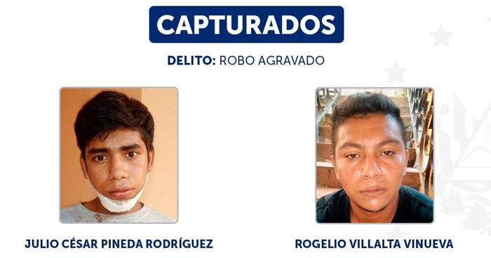 Capturados tras robar más de $2,000 en efectivo a empresa en Ahuachapán
