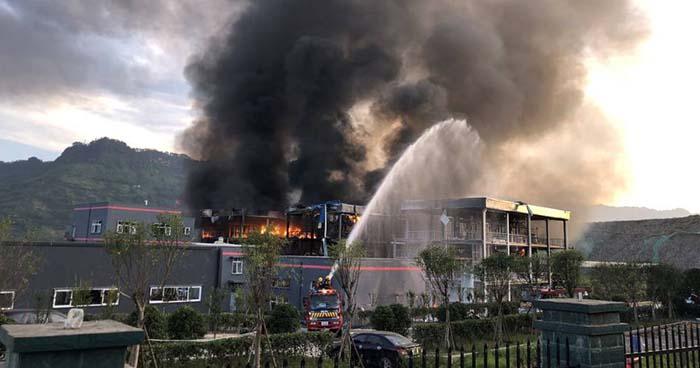 Explosión en una planta química en China causa la muerte de 19 personas