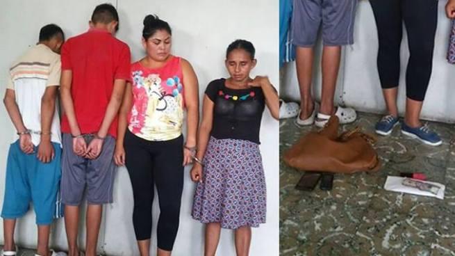 Arrestan a cuatro extorsionistas en San Juan Talpa, La Paz