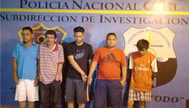 Operativo deja la captura de seis extorsionistas que operaban en San Salvador