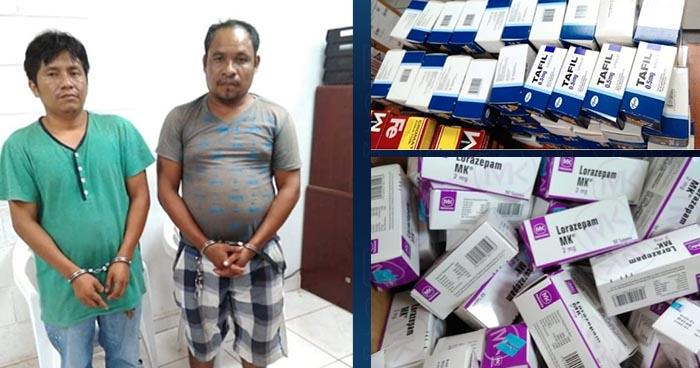 Caen en frontera El Amatillo extranjeros que pretendían ingresar medicamentos de contrabando