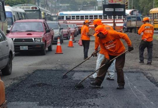 Iniciara segunda fase de ampliación en la carretera al puerto de La Libertad