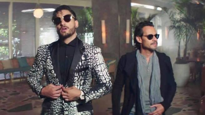 Felices los 4 de Maluma en versión salsa con Marc Anthony resulta ser todo un éxito