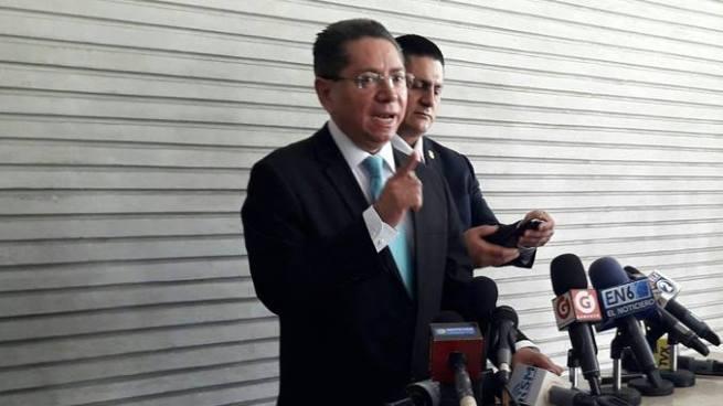 Douglas Meléndez denunció atentado contra personal de la Fiscalía
