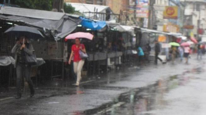 Emiten advertencia por lluvias torrenciales para las siguientes horas