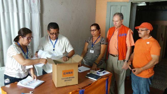 GANA realiza elecciones internas para elegir candidatos a diputados y alcaldes