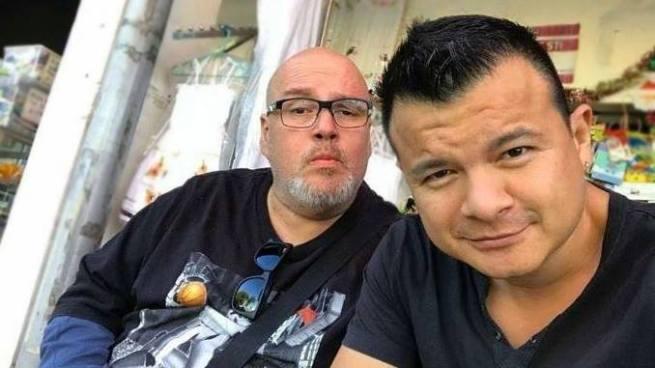 """Divulgan fotos del """"Gordo Max"""" dando un paseo por Los Planes de Renderos"""