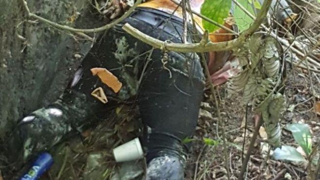 Encuentran cadáver devorado por animales en San José Guayabal, Cuscatlán