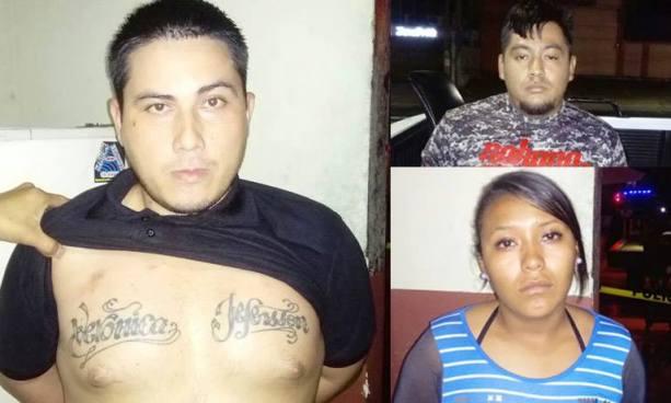 Policía captura a sujetos que le dieron muerte a un taxista en San Salvador