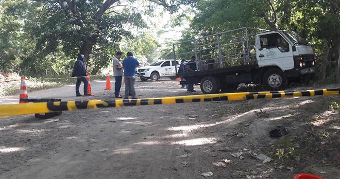 Agricultor es asesinado cuando salia de su casa a cuidar unos cañales en El Rosario, La Paz