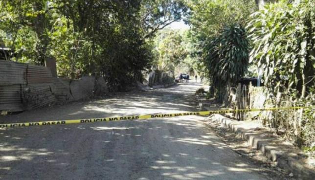 Criminales asesinan a balazos a un hombre en Armenia, Sonsonate