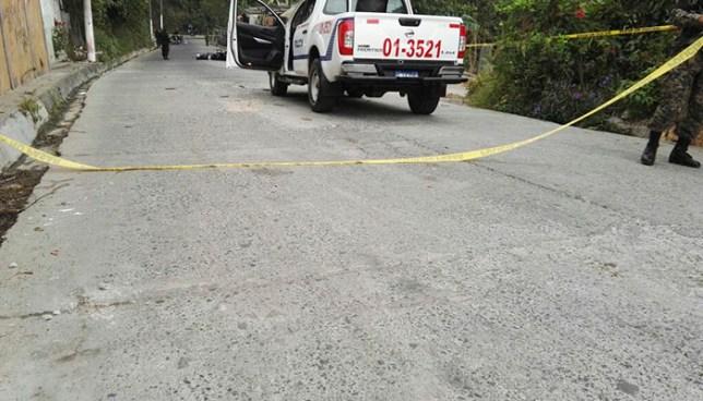 Un joven de 17 años fue asesinado por el punto de la 30B en Ayutuxtepeque