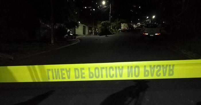 Un joven fue asesinado en la colonia La Rabida de San Salvador esta noche