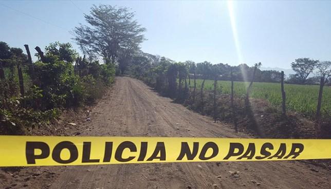 Ultiman a balazos a hombre que se conducía a bordo de una moto en Concepción Batres, Usulután