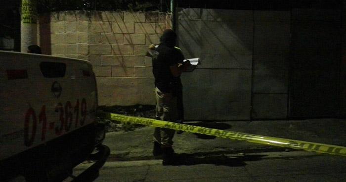 Hombre es asesinado esta madrugada en San Luis La Herradura, La Paz