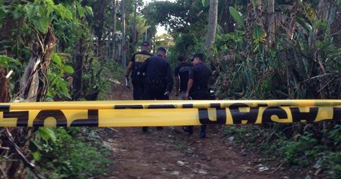 Tres hombres fueron acribillados en San Pedro Masahuat, La Paz